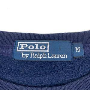 Polo by Ralph Lauren Shirts - VTG Polo Ralph Lauren Navy CrewNeck Sweatshirt M
